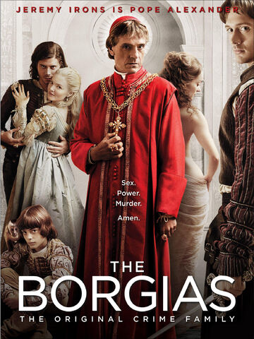 File:001 Season one promo photo of Gioffre Borgia, Cesare Borgia, Lucrezia Borgia, Rodrigo Borgia, Giulia Farnese and Juan Borgia.jpg