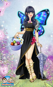 Sarah Brightman the Easter butterfairy