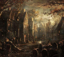 Halloween Town 1783