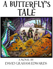 A butterfly's tale ebook cover color