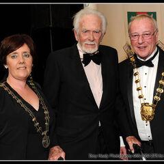 Grainne Maguire, Barry Cassin and Fingal Mayor Gerry McGuire
