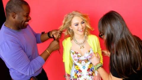 Highlights from Seventeen Magazine Photoshoot