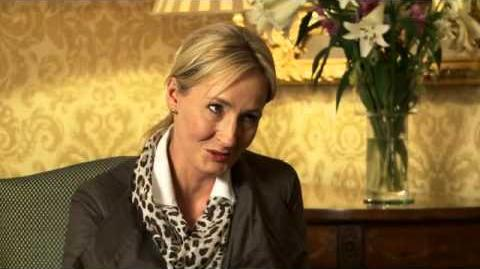 J. K. Rowling on The Casual Vacancy