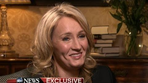 J.K. Rowling Interview on 'The Casual Vacancy' 'Harry Potter' Author on Rihanna's Influence