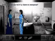 Susan talking to the nurse