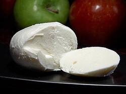 260px-Mozzarella cheese