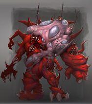 Blood abomination concept (Jongmo Nam)