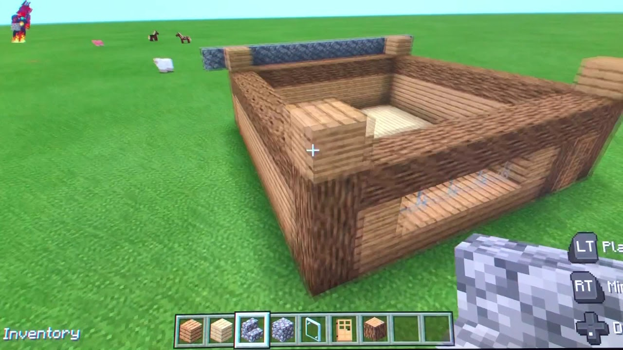 How To Build An Easy Wooden House The Colackent Wiki Fandom