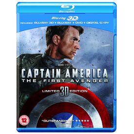 Captain america the first avenger blu-ray 3D blu-ray DVD digital copy