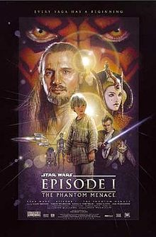 The phantom menace poster