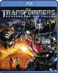 Transformers revenge of the fallen blu-ray