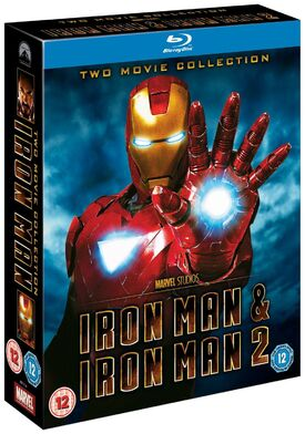 Iron man & iron man 2 blu-ray
