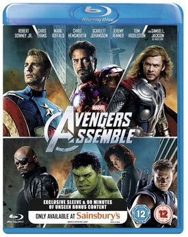Avengers Assemble Two Disc Special Edition Blu-ray