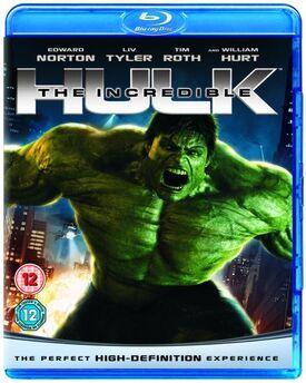 The Incredible Hulk Blu-ray