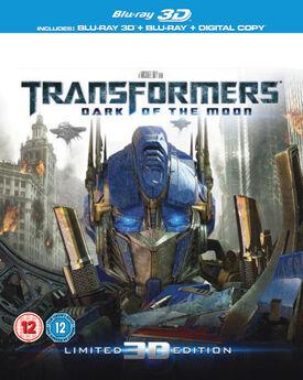 Transformers dark of the moon blu-ray 3D blu-ray digital copy