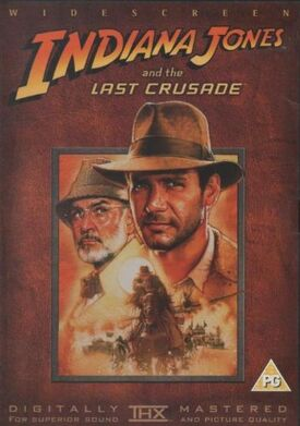 Indianna Jones and the Last Crusade DVD