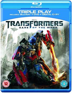 Transformers dark of the moon blu-ray DVD digital copy