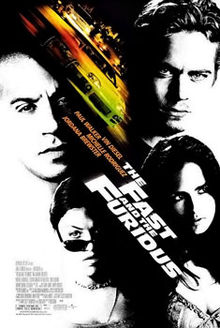 The fast and the furious poster