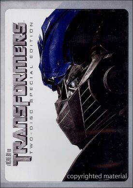 Transformers 2 disc special edition