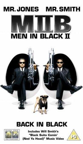 Men in Black II VHS