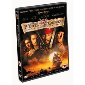 Pirates of the caribbean the curse of the black pearl 2 disc collectors edition