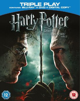Harry Potter and the Deathly Hallows Part 2 Blu-ray + DVD + Digital Copy