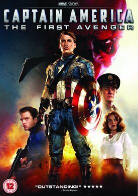 Captain America The First Avenger DVD