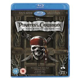 Pirates of the caribbean 4 movie collection blu-ray