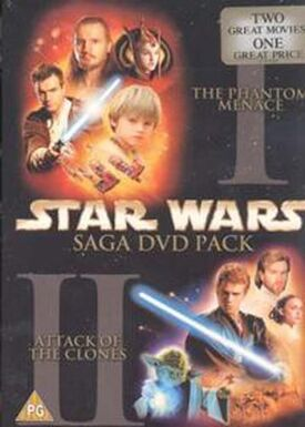 Star Wars Saga DVD Pack