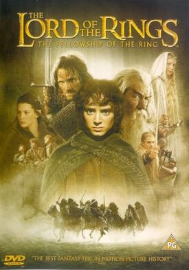 The fellowship of the ring DVD