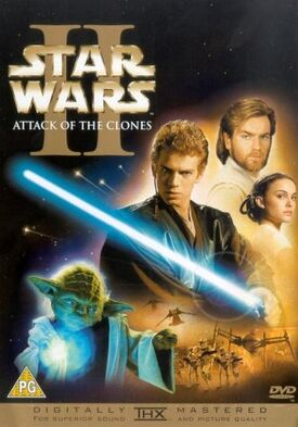 Star Wars Episode II Attack of the Clones DVD