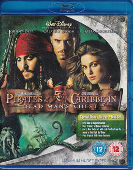 Pirates of the Caribbean Dead Man's Chest Blu-ray