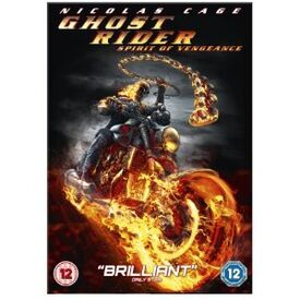 Ghost rider spirit of vengeance DVD
