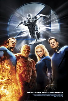 Fantastic 4 rise of the silver surfer poster