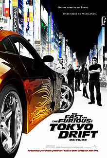 The fast and the furious tokyo drift poster