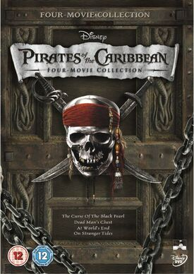 Pirates of the caribbean 4 movie collection DVD