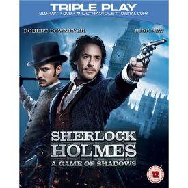 Sherlock Holmes A Game of Shadows DVD Blu-ray UV copy