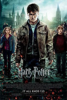 Harry potter and the deathly hallows part 2 poster