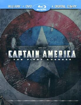 Captain america the first avenger blu-ray DVD digital copy steelbook