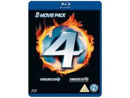 Fantastic 4 2 movie pack blu-ray
