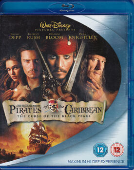 Pirates of the Caribbean The Curse of the Black Pearl Blu-ray