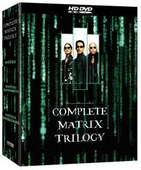 The complete matrix trilogy HD DVD