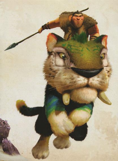 Image grug and chunky huntingg the croods wiki fandom grug and chunky huntingg voltagebd Choice Image