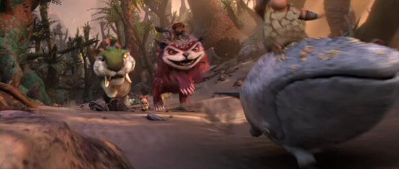 The Croods' Race