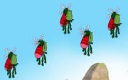 Swarm of mosquitoads