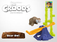 McDonald's Croods Bear Owl Toy Promo