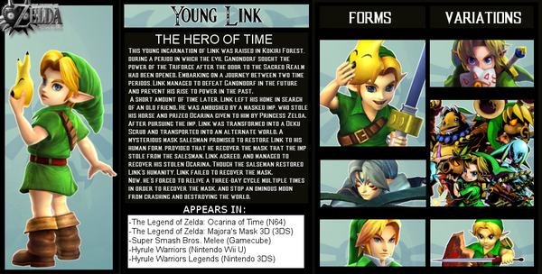 Young Link Bio