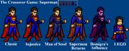 Superman Sprites