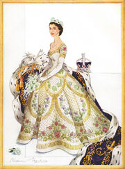 Coronation Dress