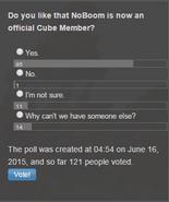 Poll NoBoom Member